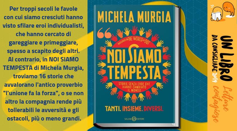 """""""Noi siamo tempesta"""" di Michela Murgia"""